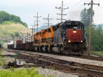 B&P freight southbound through Bradford PA @ 13:58